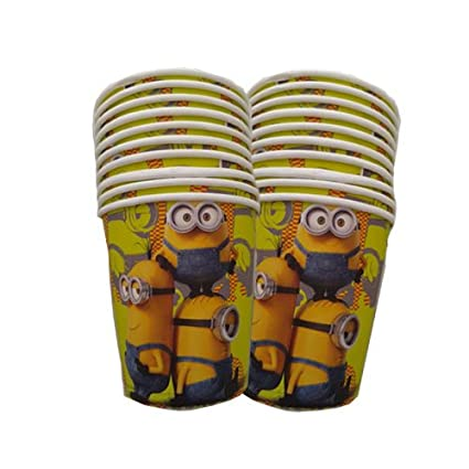 minion paper cups minion theme birthday party kids party