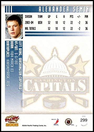 2004-05 Pacific #299 Alexander Semin RC Washington Capitals Official NHL Hockey Trading Card ()