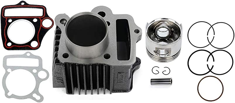 TUPARTS TUPARTS Engine Cylinder Heads fit for 69-08 for H-onda ATC70 XR70 for H-onda CT70 S65 Cylinder Piston System