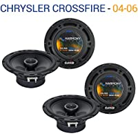 Chrysler Crossfire 2004-2006 Factory Speaker Upgrade Harmony (2)R65 Package New