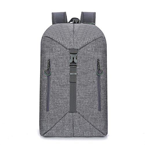 Mochila Personalizada Deformación Deportes Anti-robo Paquete De Ocio Al Aire Libre Bolsa De Viaje Bolso Grey