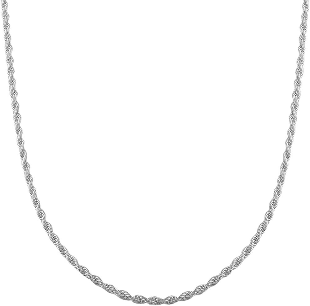 Sterling Silver Singapore Chain Anklet Necklace Bracelet 60