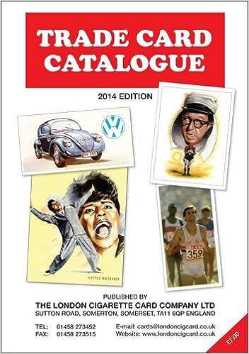 Trade Card Catalogue 2014
