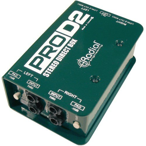 Radial ProD2 Passive 2 Channel Direct Box (8 Channel Isolation Transformer)