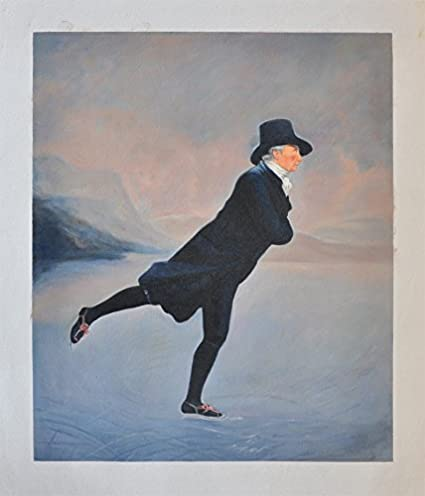 67f3ab96f025e Amazon.com: Roya Art-Famous Art Reproduction The Skating Minister By ...