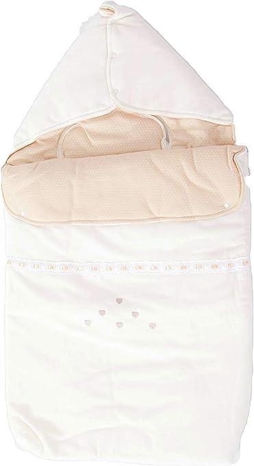 Saco nana capazo de invierno y grupo 0 bebe universal de algodón(danielstore) Color crudo (20411): Amazon.es: Bebé