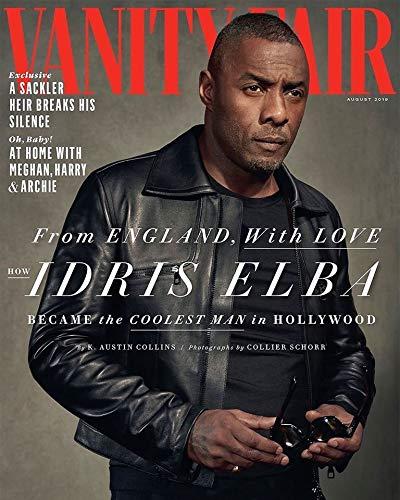 - Vanity Fair Magazine (August 2019) Idris Elba Cover