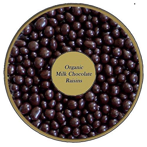 Organic Milk Chocolate covered Raisins