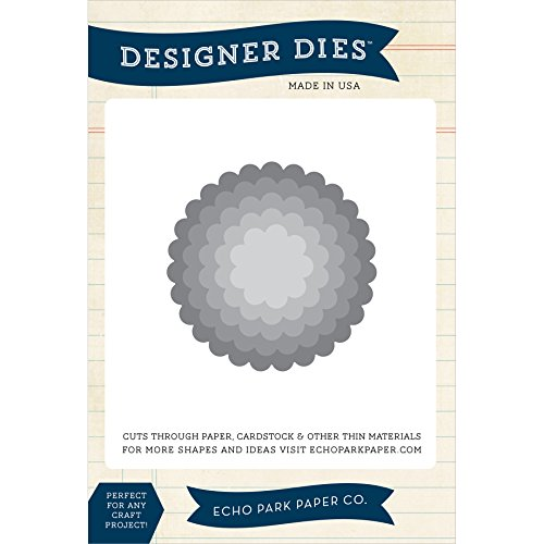 Echo Park Paper Company Scallop Circle Nesting Die Set