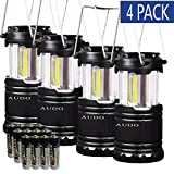 Camping Lantern Ultra Bright 4 Pack Audo Cob - Best Reviews Guide