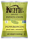 kettle chip pepperoncini - Kettle Brand Potato Chips, Pepperoncini, Caddy of 2 Ounce Bags (Pack of 6)