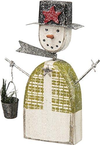 Primitives by Kathy Snowman Sitter, Green Vest -