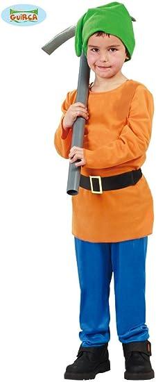 Disfraz de Pitufo enanito (10-12 años): Amazon.es: Juguetes y juegos