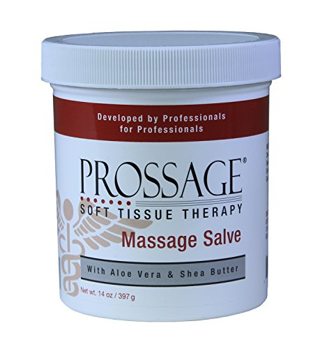 Soft Tissue Therapy - Prossage Massage Salve for Deep Tissue Massage and Therapuetic Massage, Topical Pain Reliever for Soft Tissue Mobilization, Trigger Point Therapy, IASTM, Graston, Muscle Pain Relief, 14 Ounce Jar