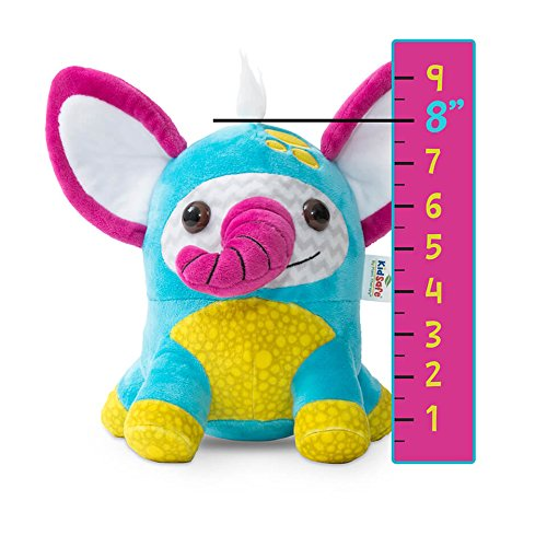 Plant Therapy Lil' Stinkers Aroma Plush Animal KidSafe Signature Essential Oil Blends (PJ the Elephant Aroma Plush w/Signature Synergy)