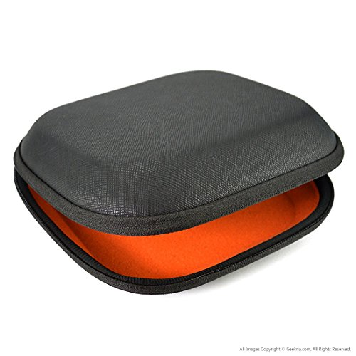 Headphones case for SONY MDR-ZX100, ZX110, ZX300, ZX310, XB200, ZX102DPV, Sennheiser HD218, HD229, HD239 Headphones Hard Carrying Case / Travel Bag with Space for Cable, AMP, Parts and Accessories
