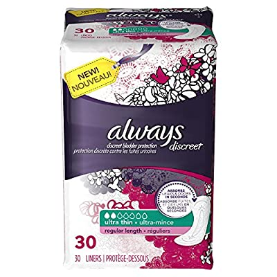 Always Discreet Incontinence Liners