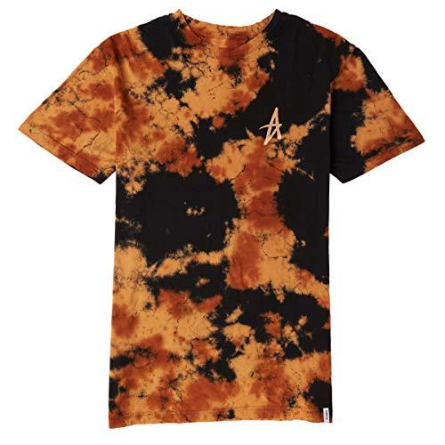 Tee Altamont (ALTAMONT Dark Days T-Shirt - Black/Orange - SM)