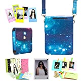 CAIUL 6 in 1 Fujifilm INSTAX SHARE SP-2 Smart Phone Printer Accessories Bundles (Galaxy SP-2 Case/ Mini Photo Case/ Magnetic Frame / Wall Hang Frames/ Film Frames/ Film Stickers)