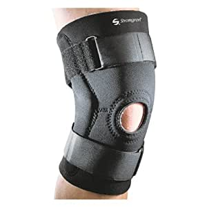 Stromgren Hinged Neoprene Knee Support with Strap (Small)