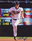 MAX KEPLER ACTION MINNESOTA TWINS SIGNED 8X10 W/COA