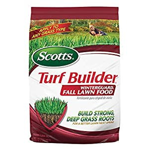 Scotts Turf Builder Lawn Food – WinterGuard Fall Lawn Food, 5,000-sq ft (Lawn Fertilizer) (Not Sold in Pinellas County…