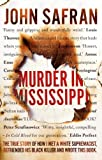 Front cover for the book Murder in Mississippi by John Safran