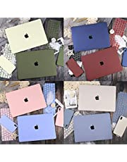 ZOUJIN Midnight Color MacBook Pro 13 15 Air 13 2020 A2337 A2179 A2338 M1 A2251 a2289 Retina 12 2019 A1932 A1990 A1398 A1502 Logo cut out Hard Case+keyboard cover