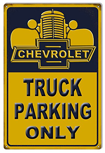Miscellaneous Parking Signs (Chevrolet Truck Parking Only Sign)
