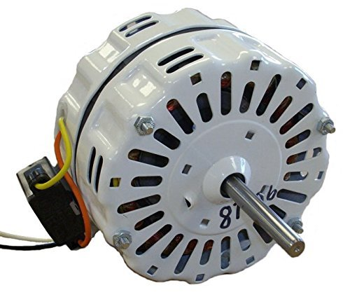 Nutone Gable Vent Fan Motor # D0810B2779 (GF1200N) 1725 RPM, 4.1 Amp, 115 volts, 60hz. - Gable Vent Attic Fan