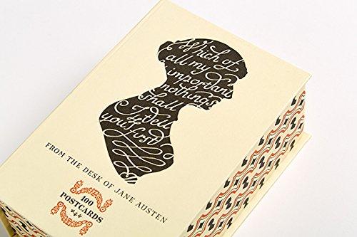 From the Desk of Jane Austen: 100 Postcards: Amazon.es ...