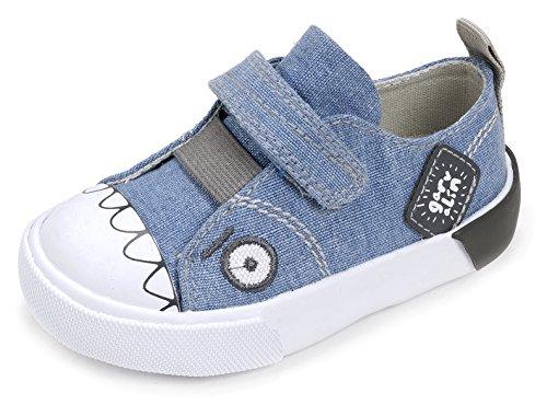 Garvalín 172805, Zapatillas para Niños Azul (Vaquero /     Lona)