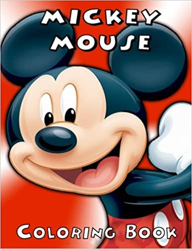 mickey mouse coloring book clubhouse exclusive work 37 illustrations for kids and adults