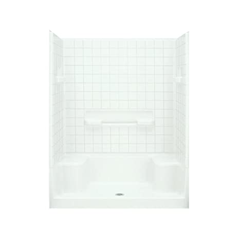 Sterling Plumbing 62040106-0 Advantage Shower Kit, 60-Inch x 34 ...