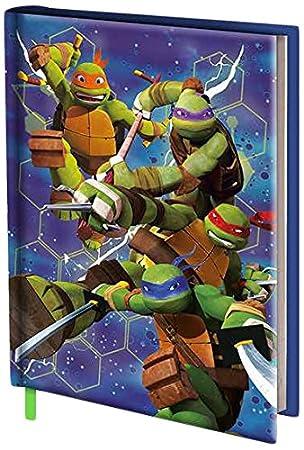 Turtles viscio Trading 163621 Diario Escolar, Papel, 20 x 14 ...
