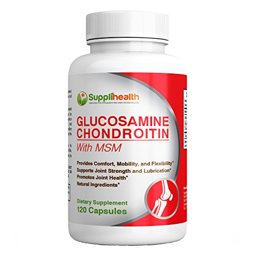 Superior Glucosamine Chondroitin Sulfate with MSM Joint Relief & Support Reduce Inflammation & Pain Protect Restore & Cushion Muscles Cartilage & Tissue Enhanced Mobility & Flexibility 100% Guaranteed