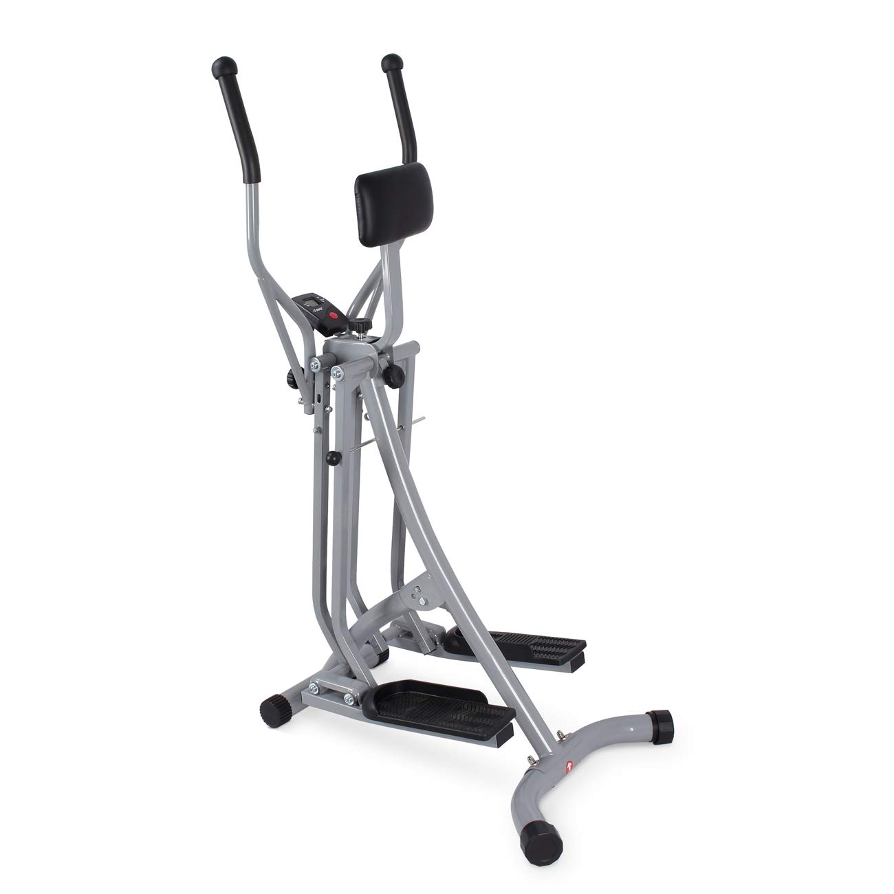 Akonza Air Walker Glider Stride Elliptical Trainer Fitness Exercise Step Machine Workout Equipment w/Computer Monitor by Akonza (Image #1)