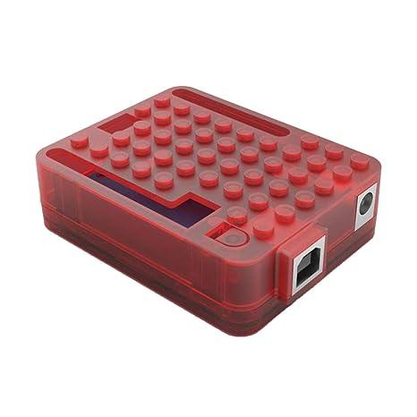 perfk Carcasa para Modelo Raspberry Pi 1 R3 Equipo de ...