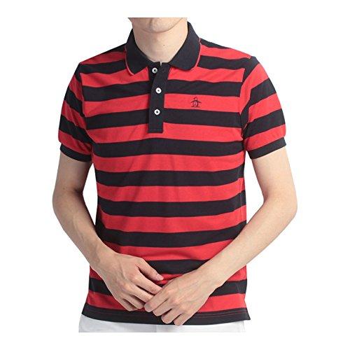 マンシングウェア(Munsingwear) 半袖シャツ JWMJ214 R397 レッド 3L