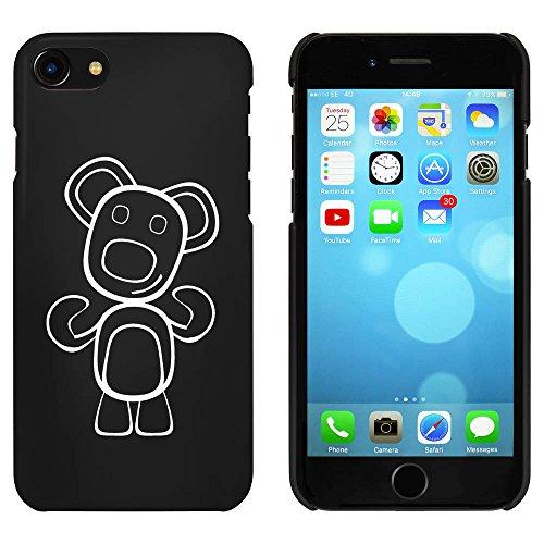 Schwarz 'Glücklicher Teddybär' Hülle für iPhone 7 (MC00073689)