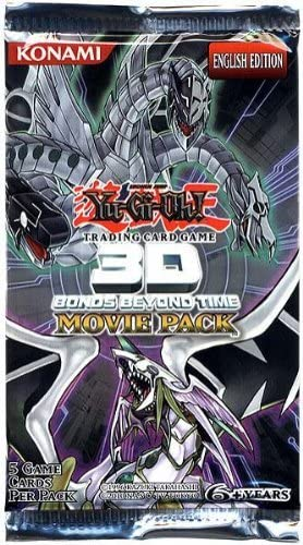 YuGiOh 3D Movie Bonds Beyond Time Booster Pack (5 Cards)  [Toy]: Amazon.es: Juguetes y juegos