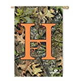Cheap Mossy Oak Camouflage H Monogram House Flag