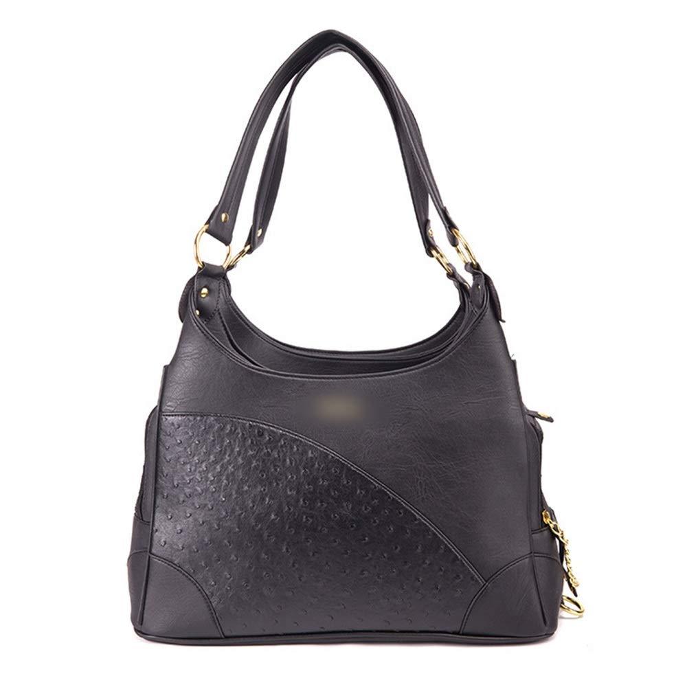 Black 40cm20cm25cmFELICIPP Pu Leather Pet Bag Multifunction Pet Bag Car Pet Selfpackage (color   Black, Size   40cm20cm25cm)