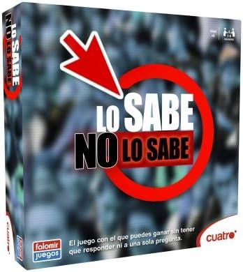 Falomir Lo Sabe No Lo Sabe: Amazon.es: Juguetes y juegos