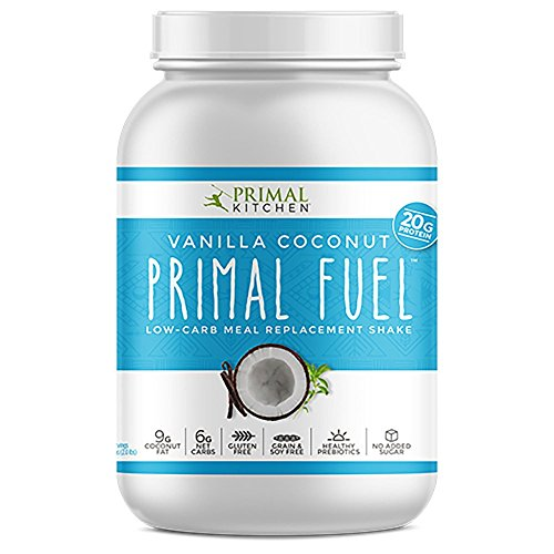 Primal Kitchen - Primal Fuel Whey Protein Powder, Low Carb Meal Replacement Supports Weight Loss (Vanilla Coconut, 32 oz)