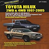 img - for Toyota Hilux/4 Runner Petrol/Gasoline & Diesel: RWD/4WD 1997-2005 RZN, VZN, LN, KZN (Max Ellery's Vehicle Repair Manuals) by Ellery, Max (2013) Paperback book / textbook / text book