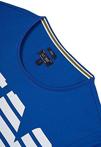 Armani Jeans Herren T-Shirt Blau Blau