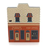 Cats Meow Village TELEGRAPH POST OFFICE Retired 1987 Main Street Series 1874
