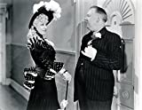 An 8 x 10 Photo Framed W.C. Fields And Mae West In My Little Chickadee 1944