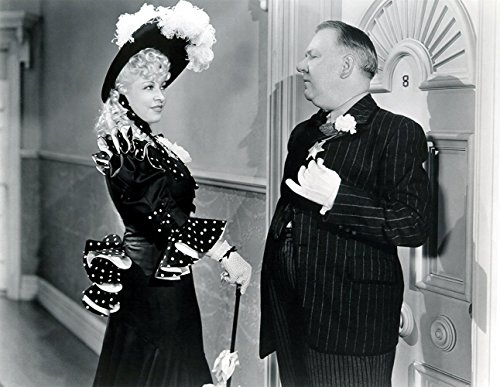 Chickadees Framed - An 8 x 10 Photo Framed W.C. Fields And Mae West In My Little Chickadee 1944